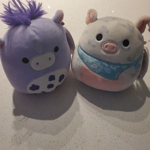 ‼️SALE ‼️TWO (2) NWT SQUISHMALLOWS